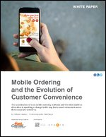 Mobile Ordering and the Evolution of Customer Convenience