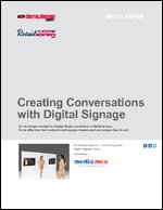 Creating Conversations with Digital Signage