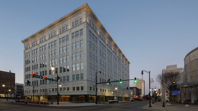 1920s department store renovation earns LEED certification