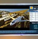 Digital signage ads in airports