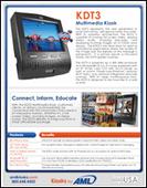 AML KDT3 Multimedia Kiosk