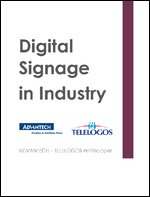 Digital Signage in Industry