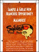 Sample a Great new Franchise Opportunity | Squisito Pizza and Pasta