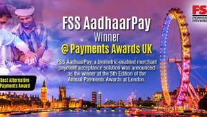 FSS AadhaarPay Wins Best Alternative Payments Awards At Payments Awards UK