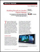 Building Broadcast-Quality Digital Signage