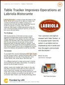 Table Tracker improves operations at Labriola Ristorante