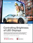 Controlling Brightness of LED Displays