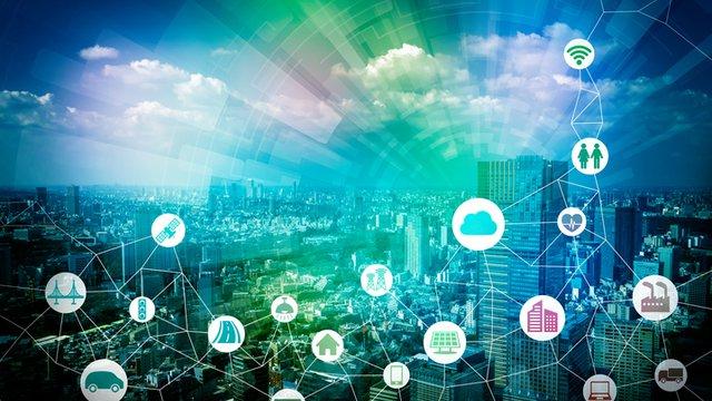 Digital signage powers smart cities