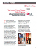 The State of Out-of-Home Digital Signage