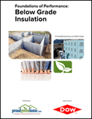 Foundations of Performance: Below Grade Insulation