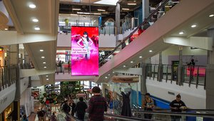 Australian out-of-home media company installs NanoLumens display in shopping center