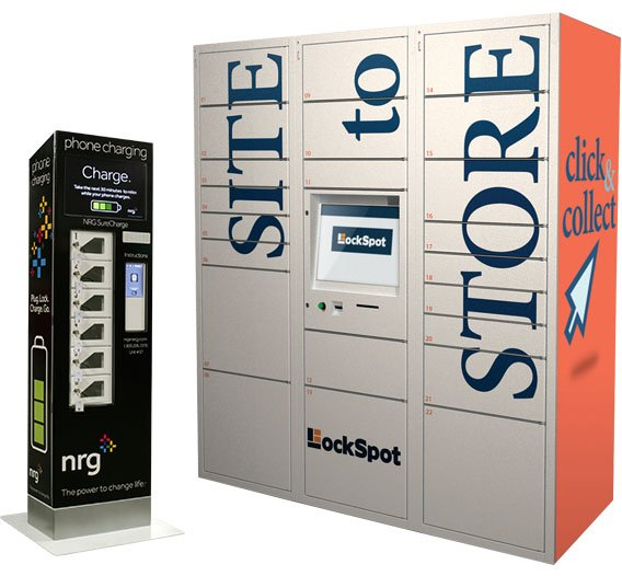 locker kiosk solutions kiosk information systems world. Black Bedroom Furniture Sets. Home Design Ideas