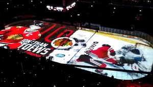 Chicago Blackhawks put projection tech on ice