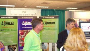The Lipman booth.