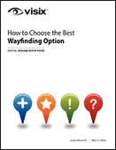How to Choose the Best Wayfinding Option
