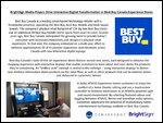 BrightSign Media Players Drive Interactive Digital Transformation in Best Buy Canada Experience Stores
