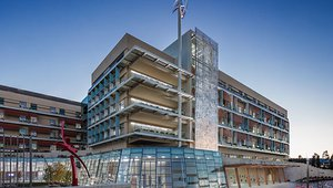 Stanford center West Coast's first LEED platinum children's hospital