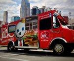 Digital menu boards showing up on food trucks
