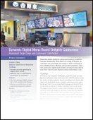 Dynamic Digital Menu Board Delights Customers