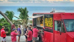 Travel website entices visitors with popular Caribbean food trucks