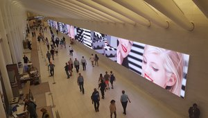 Dynamic digital media network deployed at Westfield World Trade Center
