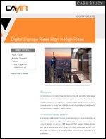 Digital Signage Rises High in High-Rises