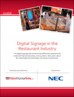 Digital Signage in the Restaurant Industry