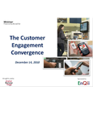Webinar: The Customer Engagement Convergence