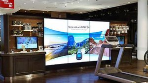 "Digital signage plays a key role at the newly opened Verizon Wireless destination Store at the Mall of America in Bloomington, Minn. (<a href=""http://photos.prnewswire.com/prnh/20131119/MM20125-b""> Photo courtesy of Brandon L. Jones.</a>)"