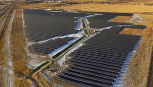 Western Canada's first utility scale solar project wraps up