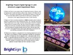 BrightSign Powers Digital Signage in Latin America's Largest Department Store