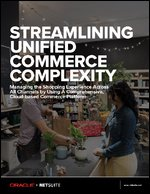 Streamlining Unified Commerce Complexity