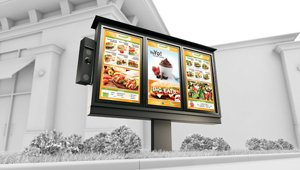 Panasonic bets on growth of drive-thru digital menu boards