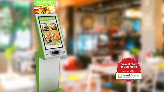 QSRs find indoor kiosks improve customer experience, deployments accelerate