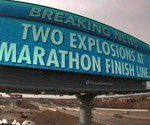 Digital billboards respond to Boston Marathon bombing
