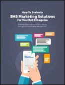How to Evaluate SMS Marketing Solutions for your B2C Enterprise