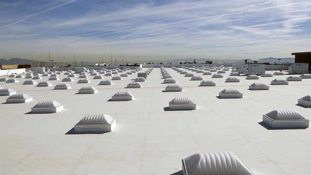 Cool roofs help minimize energy use
