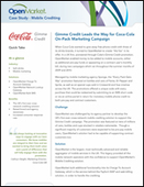 Mobile Crediting Case Study for Coca-Cola