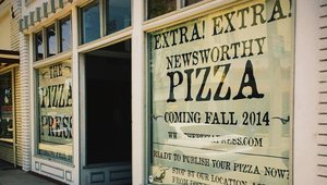 Extra! Extra! How the odd pairing of newspapers and pizza built a successful brand for Pizza Press
