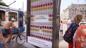 McDonald's beats the heat with heat-sensitive McFlurry vending kiosk