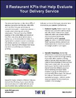 8 Restaurant KPIs that Help Evaluate Your Delivery Service