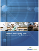 Mobile Messaging 101: How to Get Started in the Mobile Channel