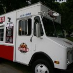 Mobile pizzeria operates by Twitter