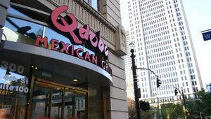 A Louisville, Ky., Qdoba location was recently used by chef Ted Stoner to introduce the chain's new Mexican Lettuce Wraps. The location is owned by Don Doyle and Mike Grisanti, founders of ZT of Louisville LLC, and features new design elements.