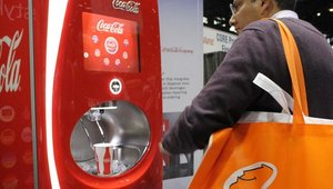 The Coca-Cola Freestyle continues to impress. The fountain can dispense more than 100 sparkling and still beverages, with web-based reporting to manage inventory and ordering efficiencies.