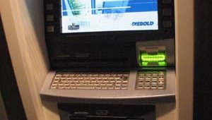 The Opteva line is an upgradable ATM line that can be altered, as this terminal has, to include a keyboard rather than a keypad. The keyboard could be used for applications that require the filling out of forms, for instance, Chipps said.