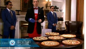 "New ads from Domino's feature the ""Secretary of Taste."""