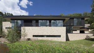 Solar-powered mountain home sustainable prototype for Aspen development