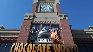 Premiering in May 2013, Hershey's Great Chocolate Factory Mystery in 4D allows audience members to help their favorite characters, Hershey, Reese and Kiss, as they embark on a mysterious adventure.