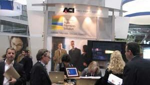 The ACI booth.